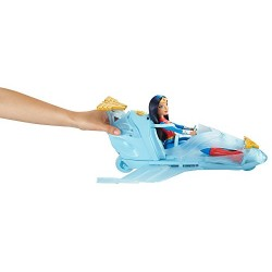 DC Comics DYN05 Super Hero Girls Wonder Woman and Invisible Jet Dolls