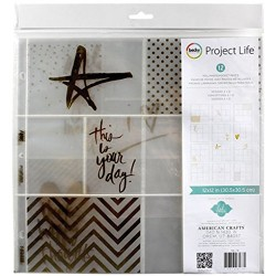 Project Life Photo Pocket Pages 12 X12 12/Pkg