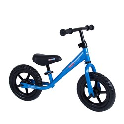 Kiddimoto SJ4 Super Junior Metall Laufrad Metal Balance Bike, Blue