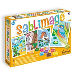 Sentosphère 3900883 Sand Image Birds Craft Set