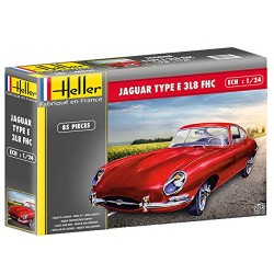 Heller 80709 Jaguar Type E 3L8 FHC Plastic Model Kit, 1