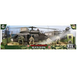 World Peacekeepers Black Hawk & 4 Figures
