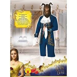 Men's Beast Fancy Dress Beauty and the Beast Disney Movie Book Adults Costume Standard
