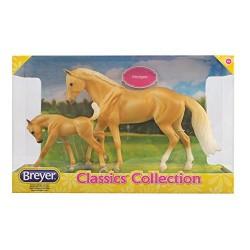 Breyer Model Horses Classic Palomino Quarter Horse and Foal