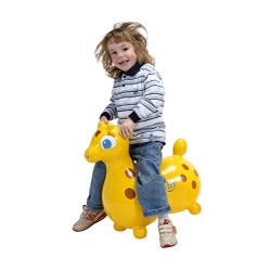 Gymnic Gyffy Hopping Horse Toy (Yellow)