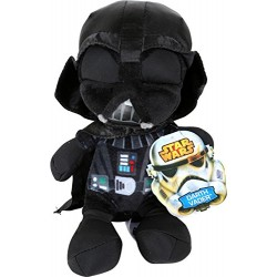 Joy Toy 1400605 17 cm Star Wars Darth Vader Velboa Velvet Plush Soft Toy