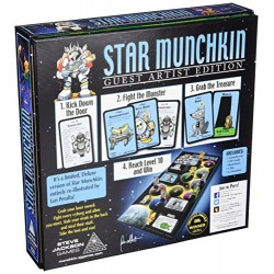 Steve Jackson Games SJG01518 Star Munchkin Guest Artist Edition Board Game