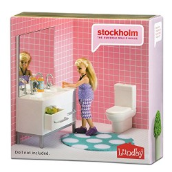 LUNDBY Stockholm Bathroom Playset