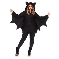 Leg Avenue Cozy Bat Costume (XL, Black)