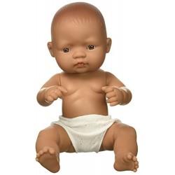 Miniland Miniland31038 32 cm Hispanic Girl Doll without Underwear