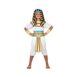Atosa 23307 / Egyptian Boy Costume Size 140 White / Gold