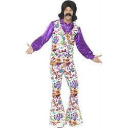 Smiffy's 44904M 60's Groovy Hippie Costume (Medium)