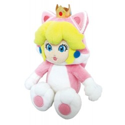NINTENDO 3700789291817 25 cm Princesse Peach Chat Plush Toy