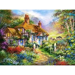 Castorland Forest Cottage Jigsaw Puzzle (3000