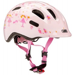 ABUS Girl Smiley 2.0 Bicycle Helmet, Girls, Smiley 2.0, rose princess