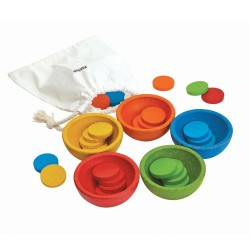 PlanToys – Sort and Count Cups (5360)