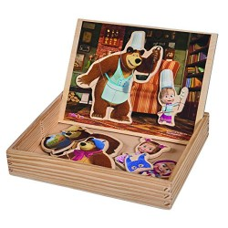 Eichhorn 109304393 Masha and the Bear Magnetic Puzzle (32