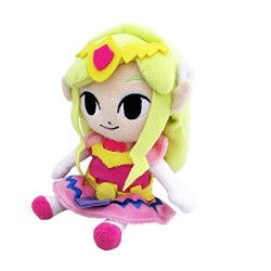 NINTENDO 3700789291831 17 cm Princess Zelda Plush Toy