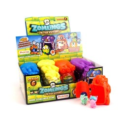 Zomlings MBXZM6P0300 In The Future Series 6 in Display Box of 12 Capsules