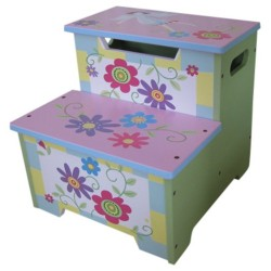 Liberty House Toys Fairy Garden Step Stool