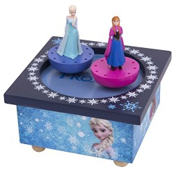 Trousselier Musical Dancing Elsa and Ana Frozen Figure