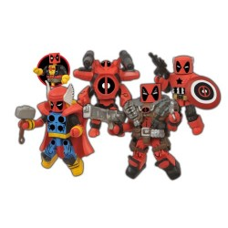 Marvel Minimates Deadpool Assemble Box Set