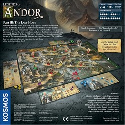 Thames and Kosmos 692803 Legends of Andor Part 3 The Last Hope Game