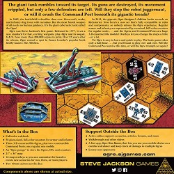 Steve Jackson Games SJG01315 – Ogre 6th Edition Card Game