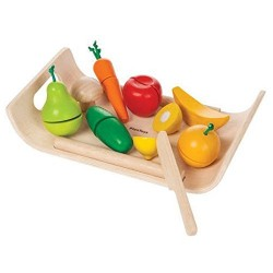 Plan Toys 34160 Assorted Fruit And Vegetables