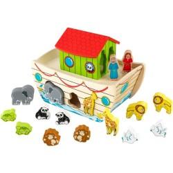 KidKraft Noah's Ark Wooden Shape Sorter