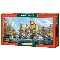 Castorland Naval Battle Jigsaw (4000
