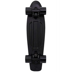 Penny Unisex Blackout Skateboard, Black, 22