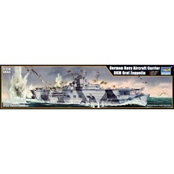 'Trumpeter 05627 German Navy Aircraft Carrier Model Kit DKM Graf Zeppelin