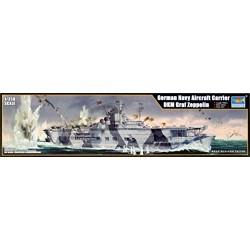 'Trumpeter 05627German Navy Aircraft Carrier Model Kit DKM Graf Zeppelin
