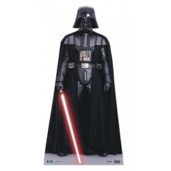 Star Cutouts Cut Out of Darth Vader