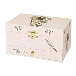 Trousselier Cherry Flower Fairies Musical Jewellery Box