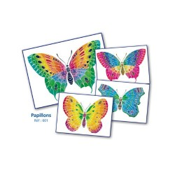 Sentosphère 3900661 Aquarellum Junior Butterflies Painting Set