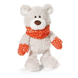 NICI 39914.0 35 cm Winter Bear Sir Beartur Dangling Soft Toy