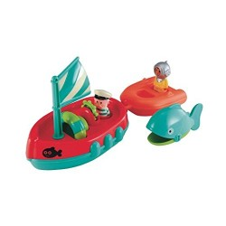 Early Learning Centre 139405 Happy Land Bath Time Boat