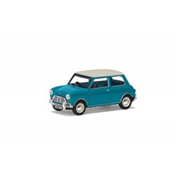 Corgi VA02538 Austin Mini Mk1 Cooper S 60th Anniversary Collection Model, Surf Blue