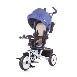 Chipolino Tricycle with Canopy Sportico, Navy