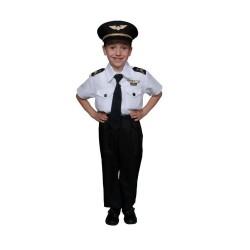 Dress Up America Deluxe Childrens Pilot Costume Set
