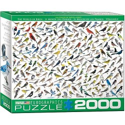 Eurographics The World of Birds by David Sibley Puzzle (2000
