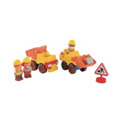 Early Learning Centre 137056 Happy Land Construction Vehicle Set
