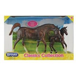 Breyer Model Horses Classic Chestnut Arabian Horse and Foal