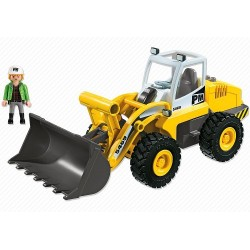 Playmobil 5469 City Action Construction Large Front Loader