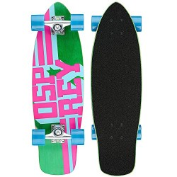Osprey Unisex Text Single Kick Tail Complete Cruiser Skateboard