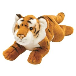 Suki Gifts Yomiko Classics Jungle and Wildlife Lying Tiger (Medium, Brown)