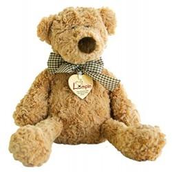 Woodyland Lumpin Bear with Ribbon (Large)