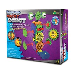 The Learning Journey 432662 Techno Gears Wacky Robot Kit